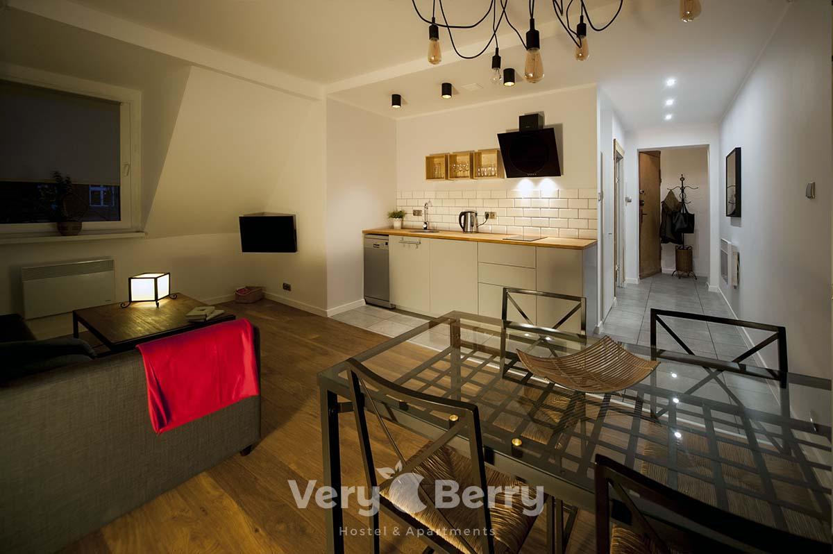 Apartamenty Poznań centrum przy starym browarze - blisko AWF - Very Berry Apartments