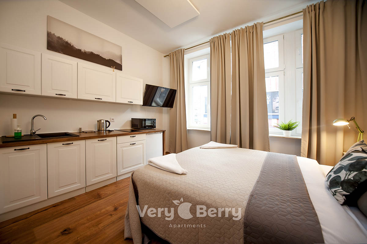 Apartament 3 - Śniadeckich 1 w Poznaniu - Very Berry Apartments (4)