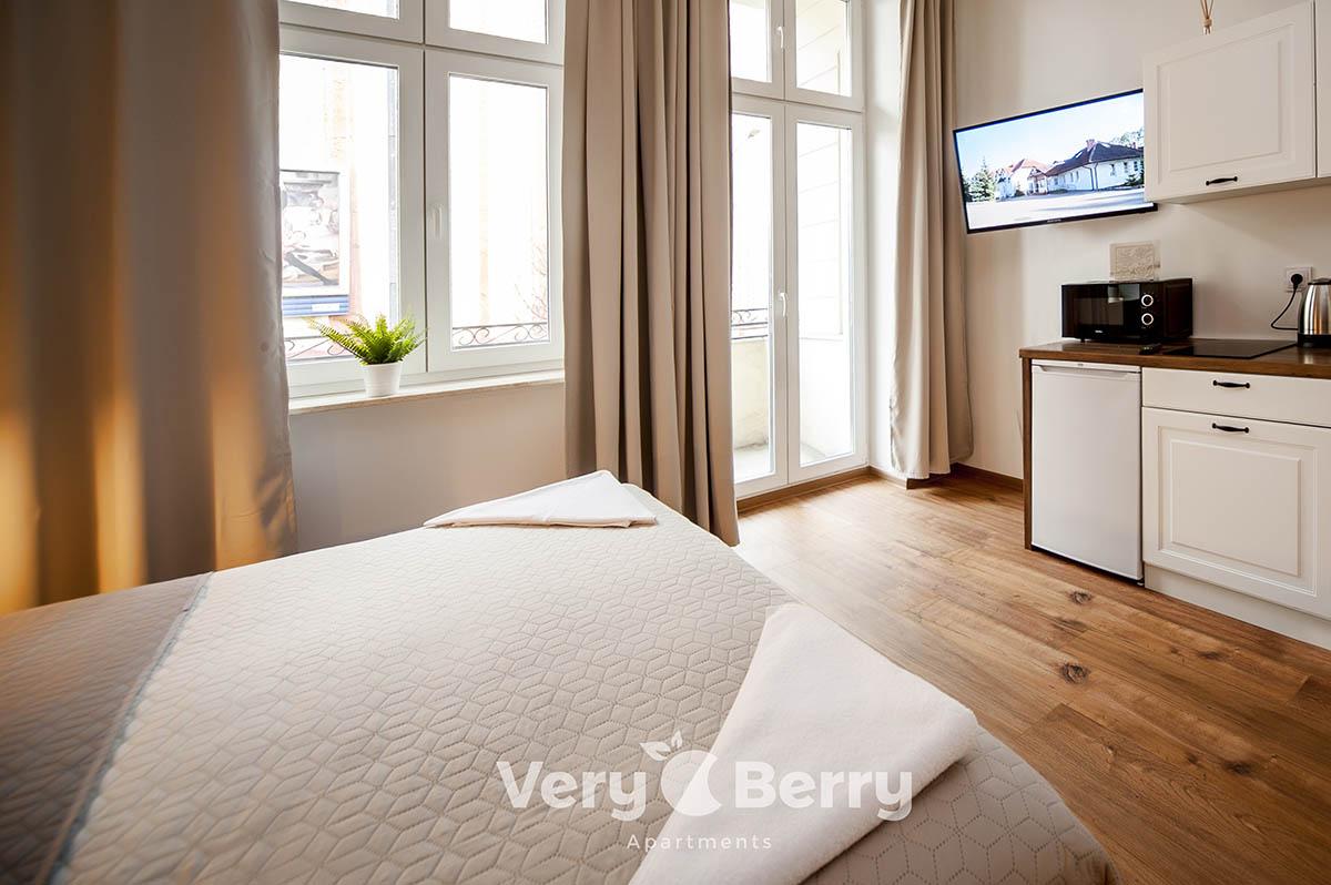 Apartamenty w centrum Poznania blisko Targów ul. Śniadeckich 1 - Very Berry Apartments (5)