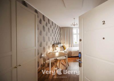Apartamenty w centrum Poznania blisko Targów ul. Śniadeckich 1 - Very Berry Apartments (7)