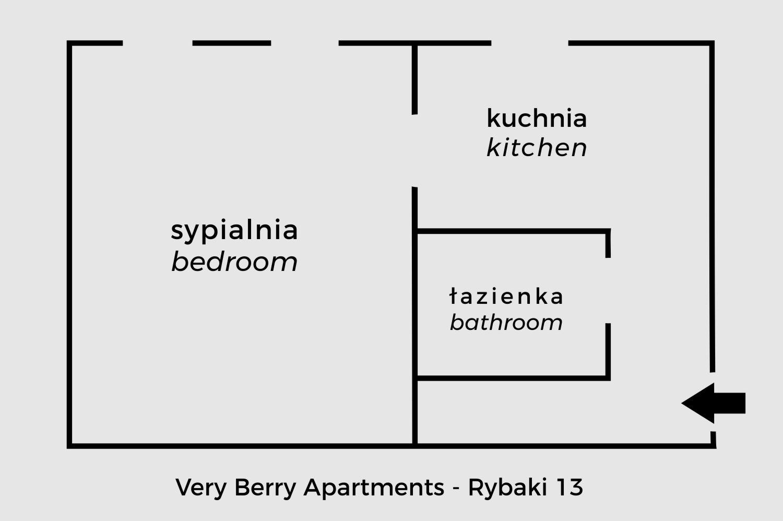 apartament w Poznaniu ul Rybaki centrum miasta