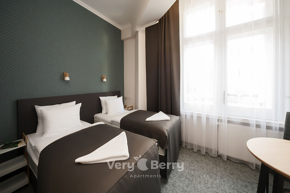 Apartament z kuchnią Poznań ul. Głogowska blisko targów MTP Poznan i dworca PKP Poznań Główny- Very Berry Apartments (3)