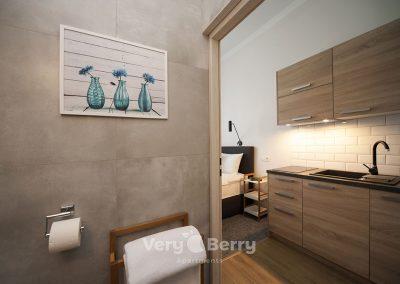 Apartamenty przy Targach w Popznaniu Glogowska 39 - Very Berry (5)