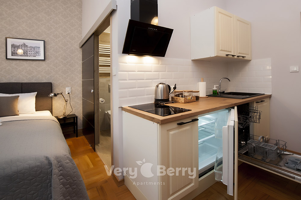 Apartamenty Głogowska 39 - Apartamenty Poznan centrum blisko PKP - Very Berry